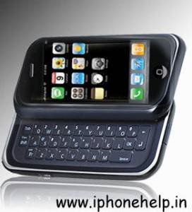 Iphone with slide out qwerty