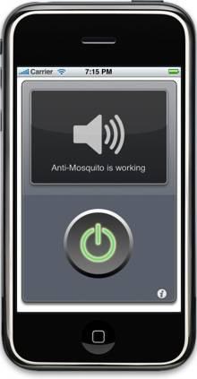 HP Mobile Ponsel Penghalau Nyamuk