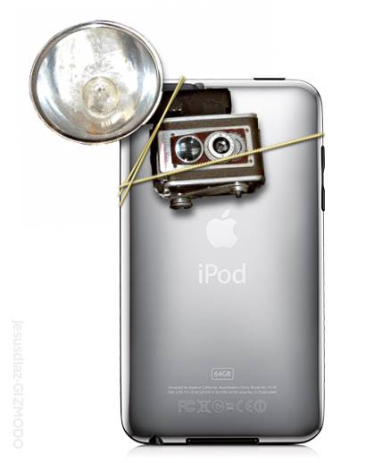 iPod touch 4G with camera? The rumors of an iPod touch with camera are back.