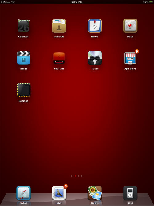 Cool Ipad Theme