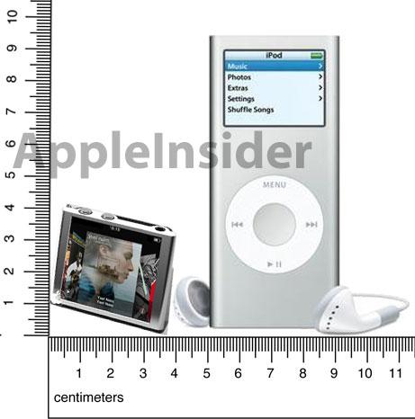 ffipod-nano Touch, ipod