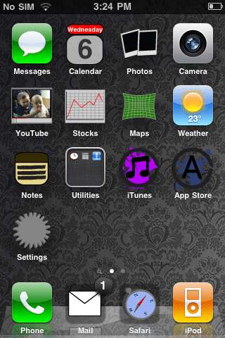 ipod touch icons pack. The springboard icons are
