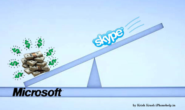 Software giant Microsoft purchases Skype for US$ 7.8 Bilion