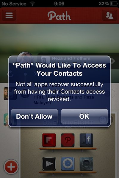 ContactPrivacy Path