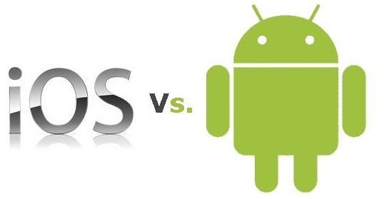 iOS versus Android
