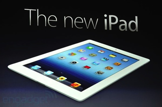 The newest iPad 4th Gen