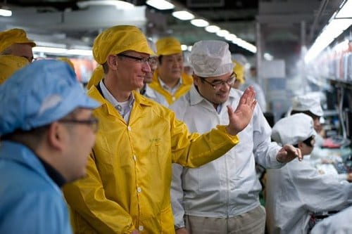 Tim Cook ZhengZhou Foxconn China