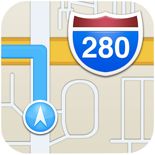 iOS6-maps-icon