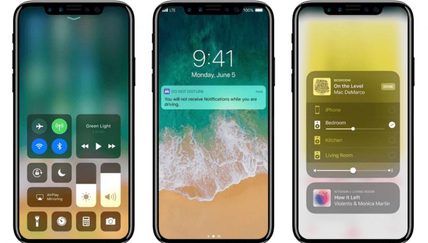 iPhone 8 leaked render